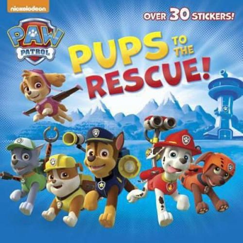 Based on Nickelodeon's new animated action-adventure series starring a pack of six heroic puppies led by a tech-savy boy named Ryder. Young readers can join the rescue team in this storybook that comes with more than 30 stickers. Full color.<br><br>Tackle the high-stakes rescue missions of the Paw Patrol with action-figure pups, plush pups, transforming vehicles, play sets and more from Toys'R'Us. Team up with the six heroic puppies: Chase, Rocky, Marshall, Skye, Zuma,...