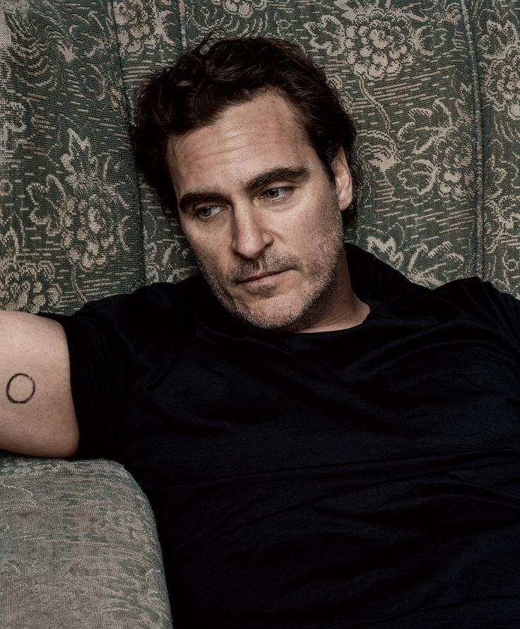 Joaquin Phoenix, vegan since the age of three, photo by Craig Mcdean