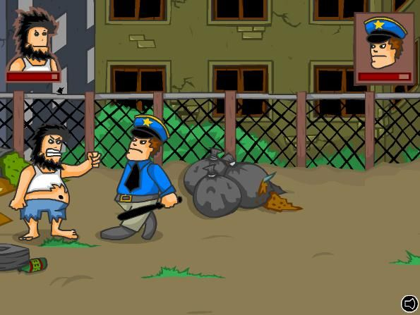 Hobo is a action game only on edygames.com. Hobo is a guy who wakes up and decides to kick everyone who stand against him. Kill your enemies to unlock awesome moves and become more stronger .Good luck and enjoy it on edygames.com !!!