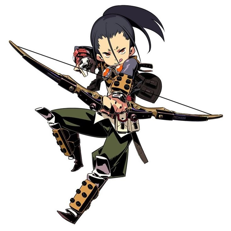 Sniper Male from Etrian Odyssey IV: Legends of the Titan