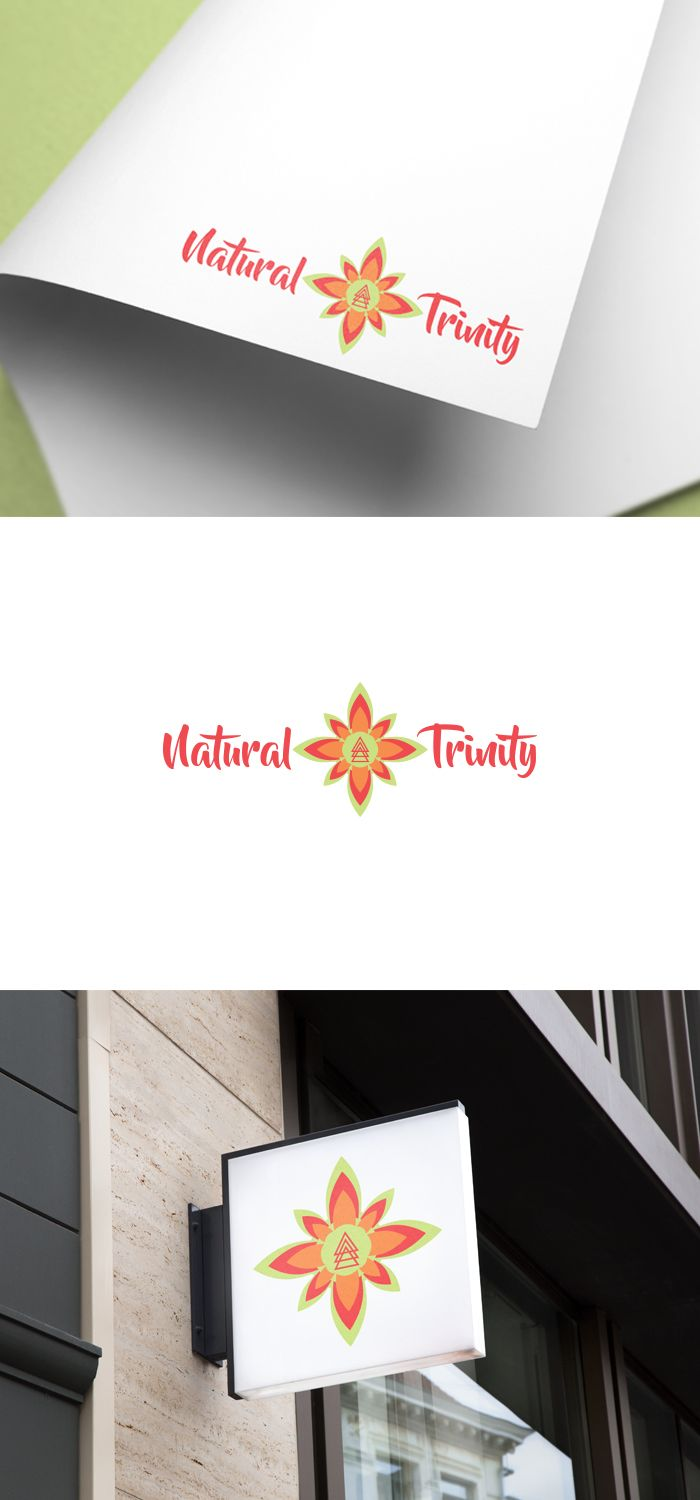 Natural Trinity is about healing the mind, body... Professional, Conservative Logo Design by Zane_Graph_Design