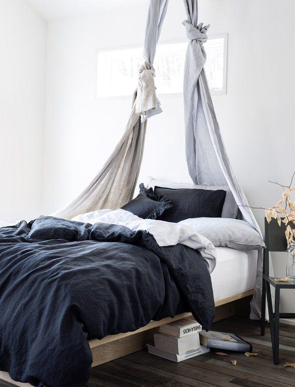 Haphazard DIY Bed Canopy | Scandinavian Deko.
