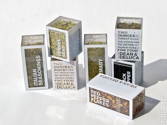 "Dean and Deluca spice set: ""The Italian Collection""  Solves the problem of looking through every spice bottle to get the right one!"