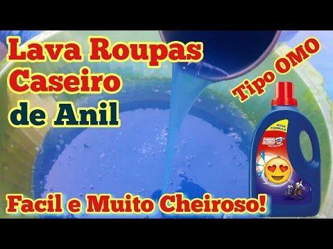 NOVO SABÃO LAVA ROUPAS CASEIRO TIPO OMO, MARAVILHOSO! RENDE 10 LITROS, I...