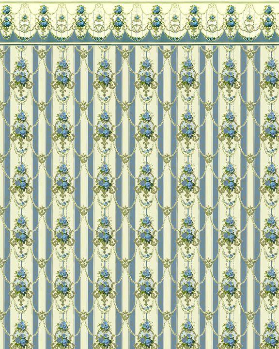 Download Dollhouse Wallpaper Victorian 01
