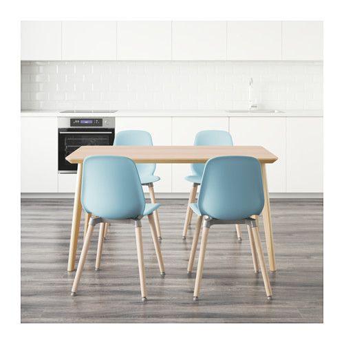 LISABO / LEIFARNE テーブル&チェア4脚  - IKEA