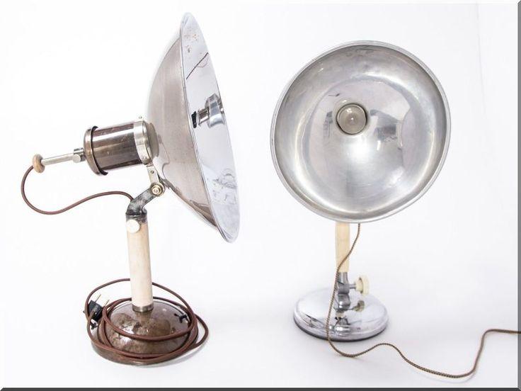 Orvosi lámpák, ipari stílusú lakberendezés