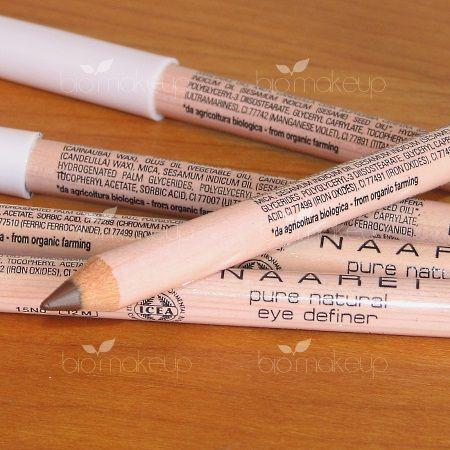 Queste matite, come tutti i prodotti Naarei, sono cruelty-free e dunque non testate sugli animali. Sono adatte ai portatori di lenti a contatto e testate al Nickel, Cromo e Cobalto. Non contengono glutine, OGM, parabeni ed altri conservanti chimici, ingredienti d'origine animale, ingredienti derivati dal petrolio, coloranti chimici, siliconi, profumi sintetici e alcool. Sono dunque adattissime anche a coloro che hanno gli occhi e la pelle molto sensibili e delicati e sono altresì ...