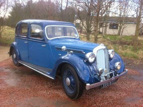 Rover 12 Saloon  (1937)