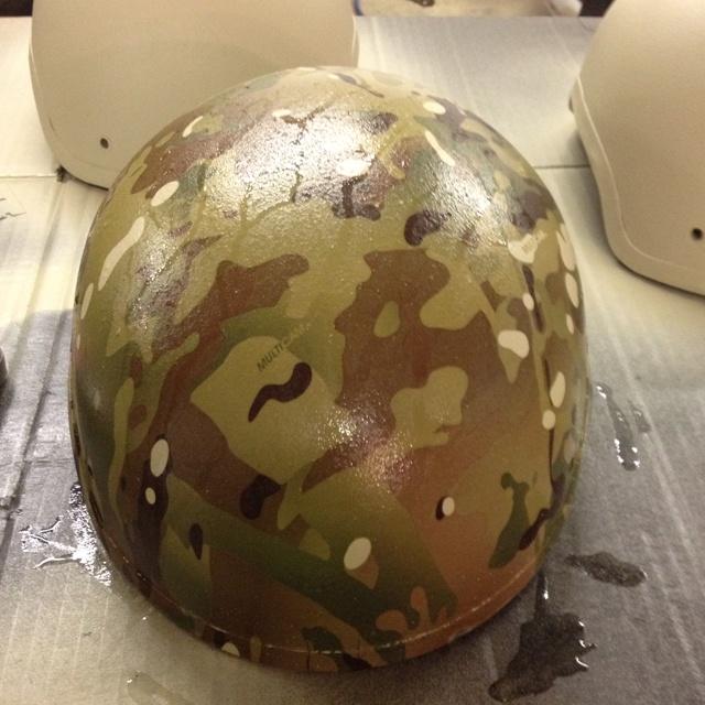 CVC  helmet in multi-cam Air force & army 2012