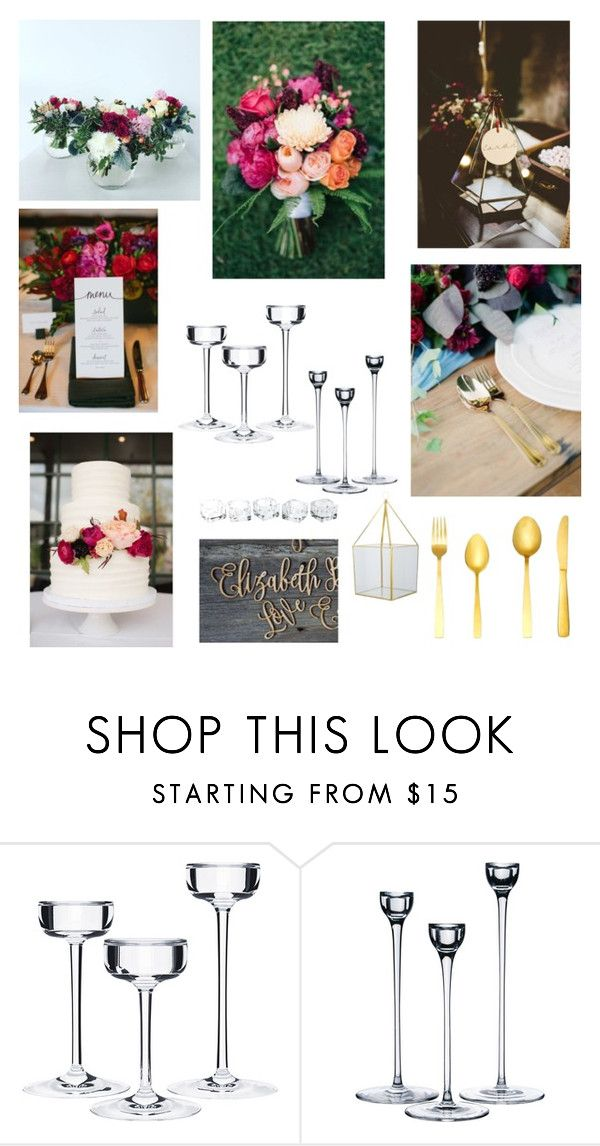"""""""WEDDING INSPO"""" by houseamour on Polyvore featuring beauty"""
