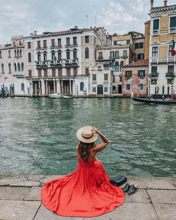 Фото в венеции девушки