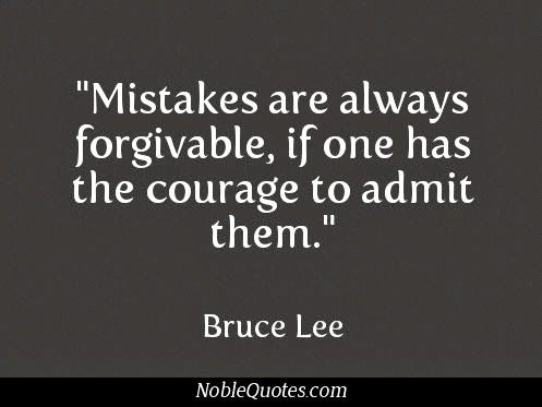 Mistakes are seldom a Oneway Street.  Often they are allowed to compile upon each other until there is no more.
