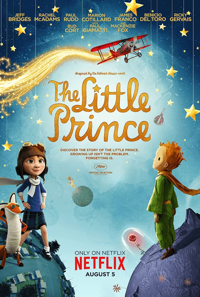 Marion Cotillard and Riley Osborne in Le Petit Prince