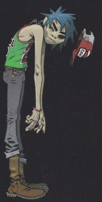 gifs and pictures of gorillaz - Socialphy