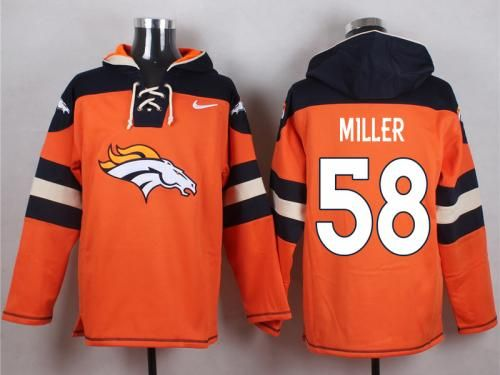 Men's Nike NFL Denver Broncos #58 Von Miller Orange Player Pullover Hoodies Any Questions, please email us via chinajerseyscustomerservice@gmail.com