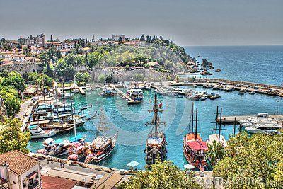 Antalya city, Antalya marina