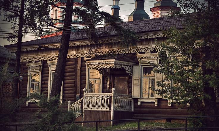 vladstudio old siberian house