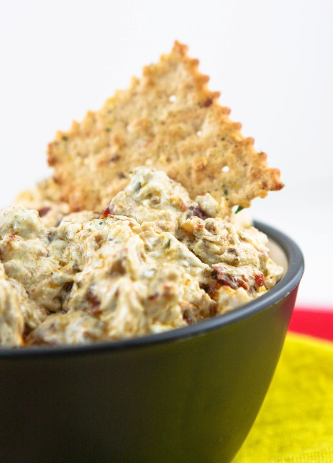 Basil & Sun-Dried Tomato Crackers Recipe — Dishmaps