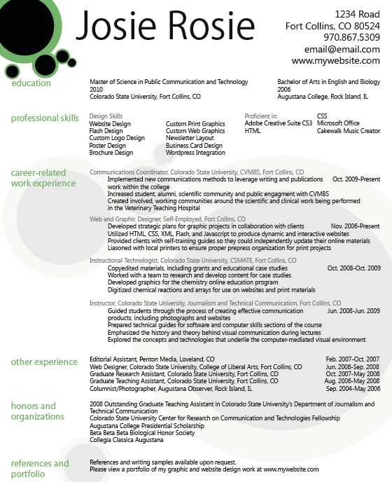17 best Resume Designs images on Pinterest Resume design, Design - graphic designer resume objective sample