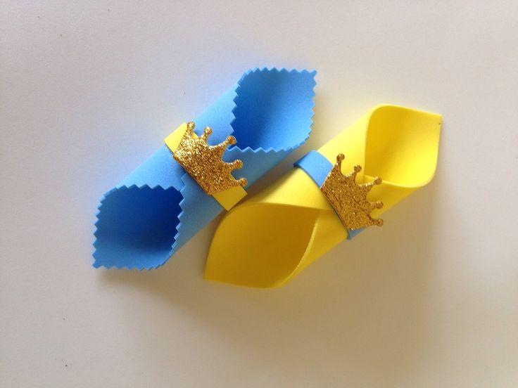 Porta guardanapos em EVA, na cor á sua escolha. <br>Perfeito para decoração das mesas. <br>Feito com muito carinho para sua satisfação. Perfeito acabamento.