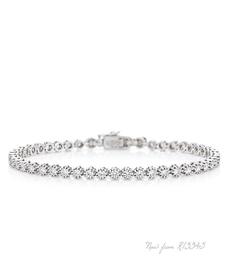 Jenna Clifford Snowflake Bracelet  -  unique love
