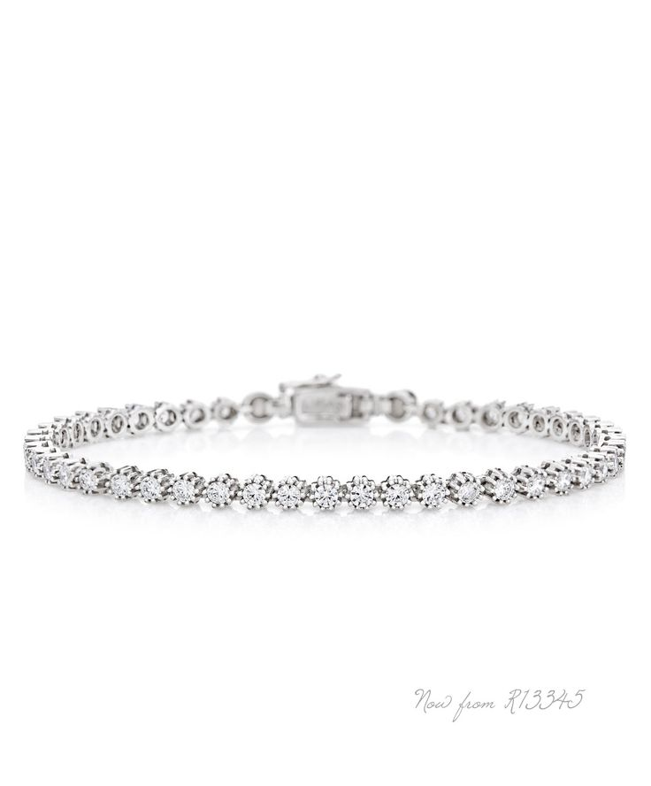 Jenna Clifford Snowflake Bracelet  -  unique love