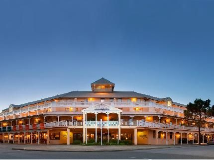 Esplanade Hotel in Fremantle.