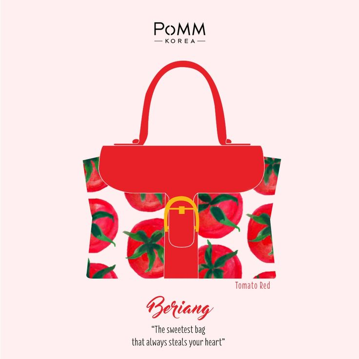 You can never go wrong with Red! A red bag is a symbol of confidence and confidence is the best accessories a woman can wear!