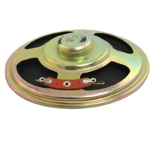 "Gino Electronic Toys Aluminum Shell Round Internal Magent Speaker 3"" 8 Ohm 1W by Gino. $4.35. This internal magnet speaker is designed with aluminum  shell.Application: electronic toys, radio, interphone, multimedia  speakers, mini box speakers, etc."