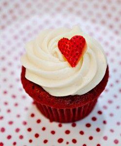 Super Easy Red Velvet Cupcakes