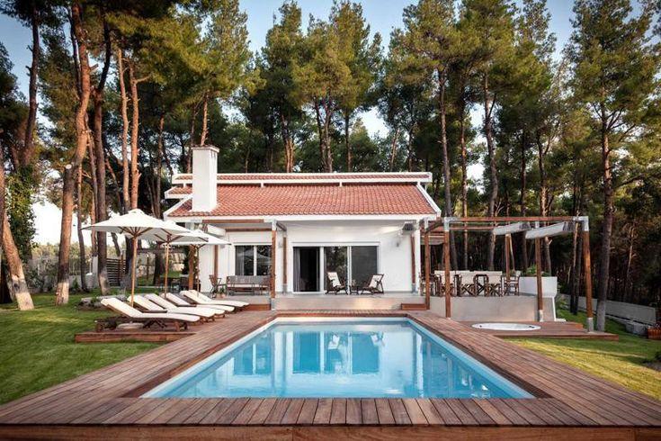 die besten 25 luxus villa ideen auf pinterest villa modernes herrenhaus interieur und. Black Bedroom Furniture Sets. Home Design Ideas