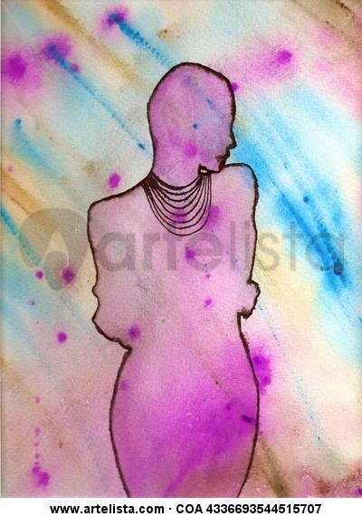Lola Kabuki-FIGURA1 he elegido esta obra por la utilización de sus colores y la reducción de sus lineas.