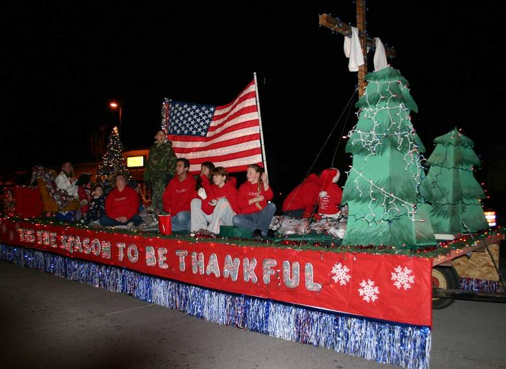 lighted christmas parade float ideas | ... youth group float wins award for best theme in Ogden City Parade