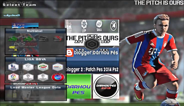Pro evolution soccer 2015 PS2 - New Of The Game - YouTube