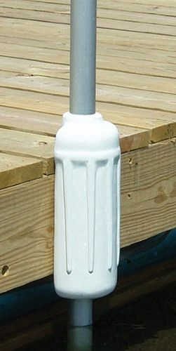 "Post bumpers are great boat protection for pipe supported type docks. This Taylor Made cranberry dock post bumper (#45653) easily slides over 1-1/2"" dock pipe and rests securely."