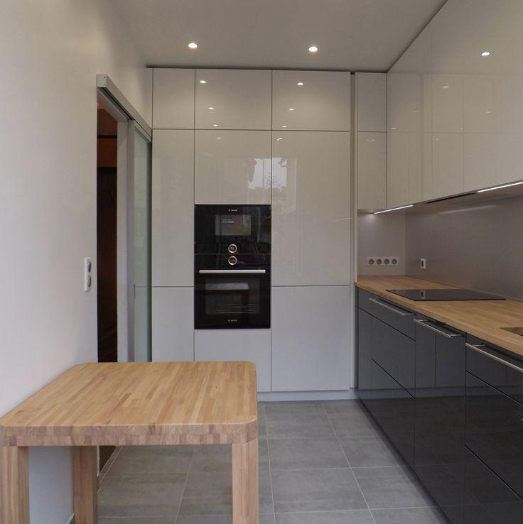 cuisine dans un pavillon des ann es 1920 fa ades rehau. Black Bedroom Furniture Sets. Home Design Ideas