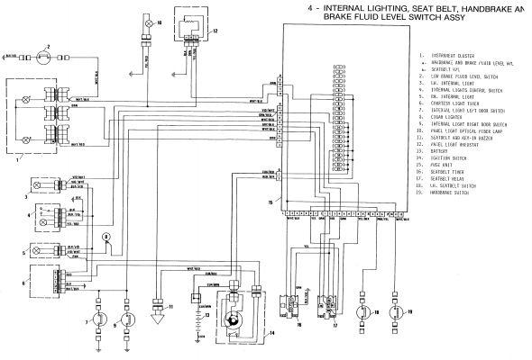 fiat punto headlight wiring diagram