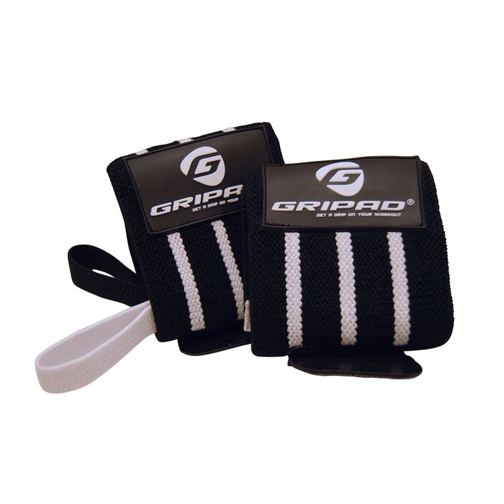 Get a grip on your workout with Gripad! NEW Gripad Weight Lifting Gloves in Black & White