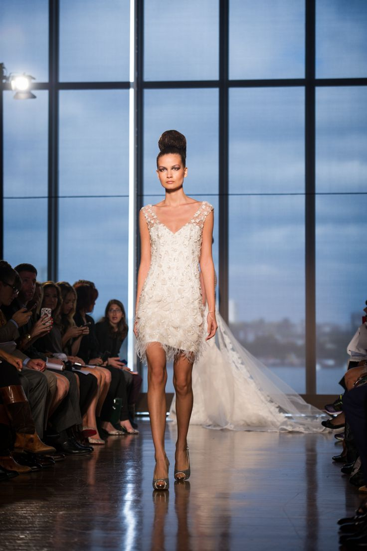 95 best Ines Di Santo images on Pinterest | Short wedding gowns ...