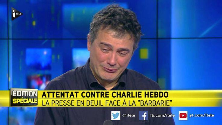 Charlie Hebdo: l'immense émotion de Patrick Pelloux