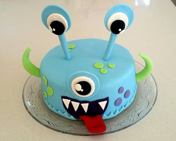 Monster cake for daddy