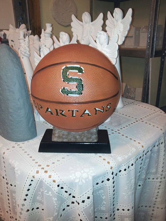 Spartans Basketball light up by ThisIMadeForYou on Etsy, $45.00