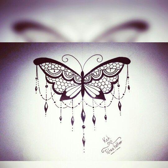 Butterfly /Borboleta Desenho para Tatuagem by @kahvazqueztattoo instagram                                                                                                                                                      Mais