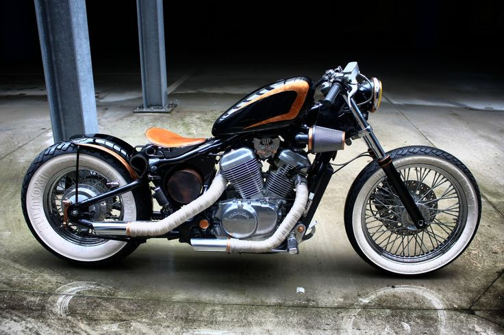 Bobber Inspiration - Honda Shadow 600 bobber | Bobbers and Custom Motorcycles | rtessmann August 2014