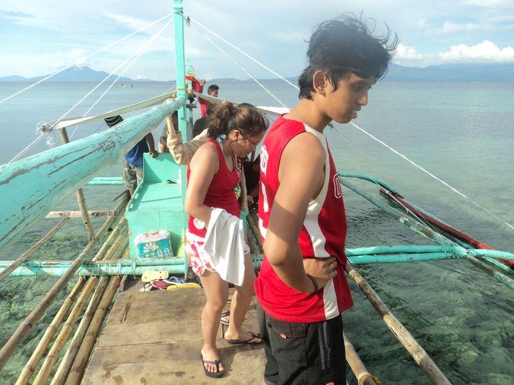 Arrival at Higatangan Island