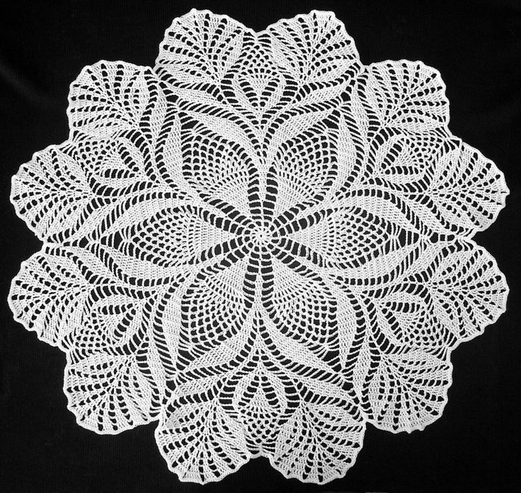 Doily2 Crochet Doily Patterns Free Crochet Doily