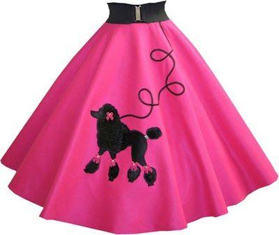 17 Best Poodle Skirts Images On Pinterest