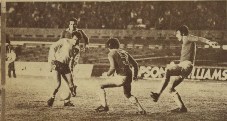 Boca Juniors - Copa Libertadores de America - 1977  - 2do partido, 0 a 0 vs Defensor en Uruguay. Mastrangelo