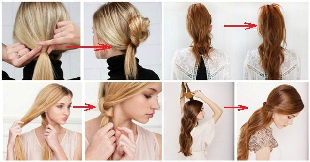 11 Quick And Easy Ways To Style Your Hair In Less Than 2 Minutes The Right Tips For Your Busy Mornings Lazy Girl Hairstyles Girl Hairstyles Easy Morning Hairstyles